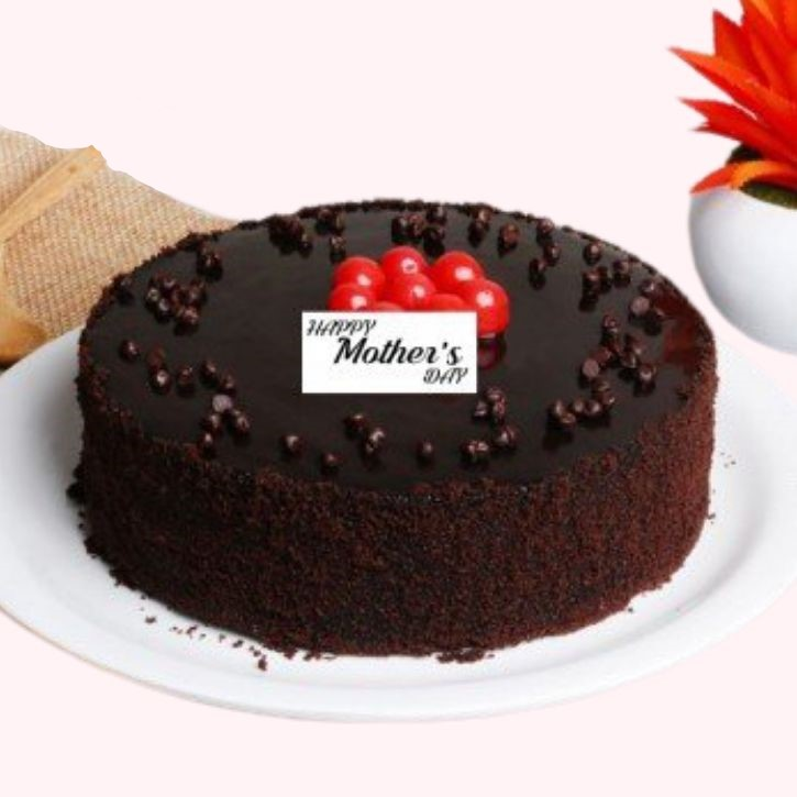 Mother's Day Truffle Cake