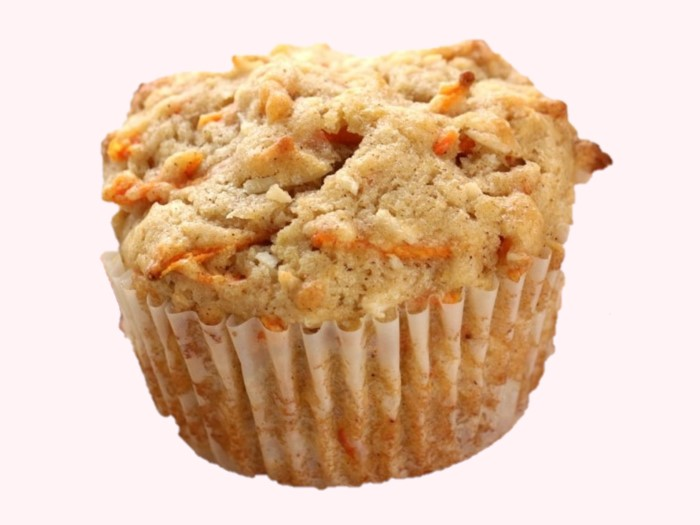 Plain Sugar free Whole-wheat eggless carrot muffins