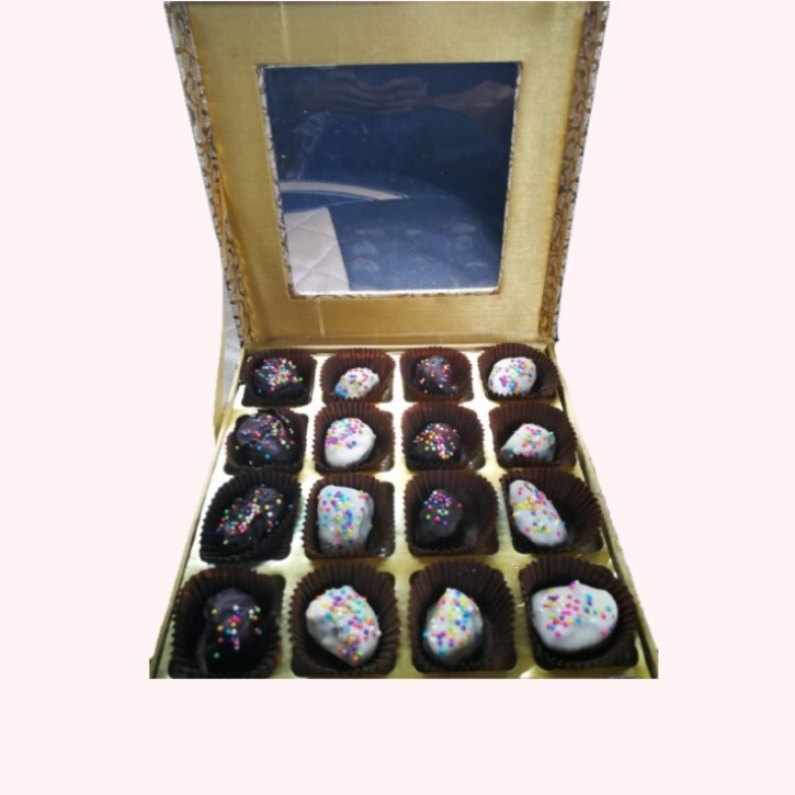 Gift Pack of Chocolate Covered Dates