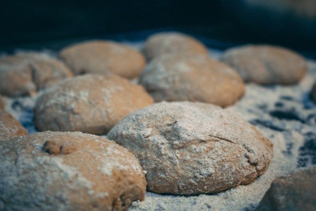 Bread Dough kept for fermentation